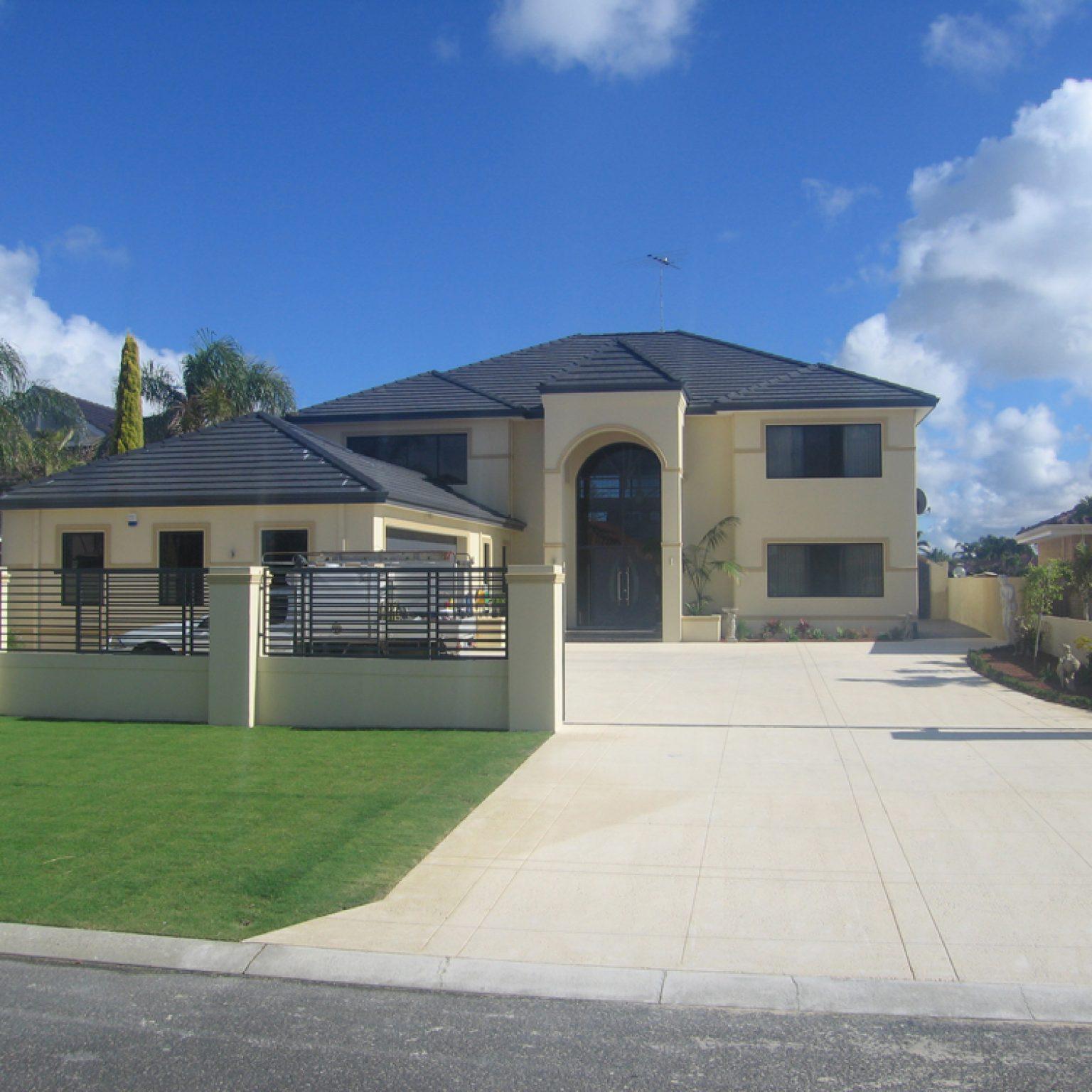 Custom built 2 storey coastal home Western Australia