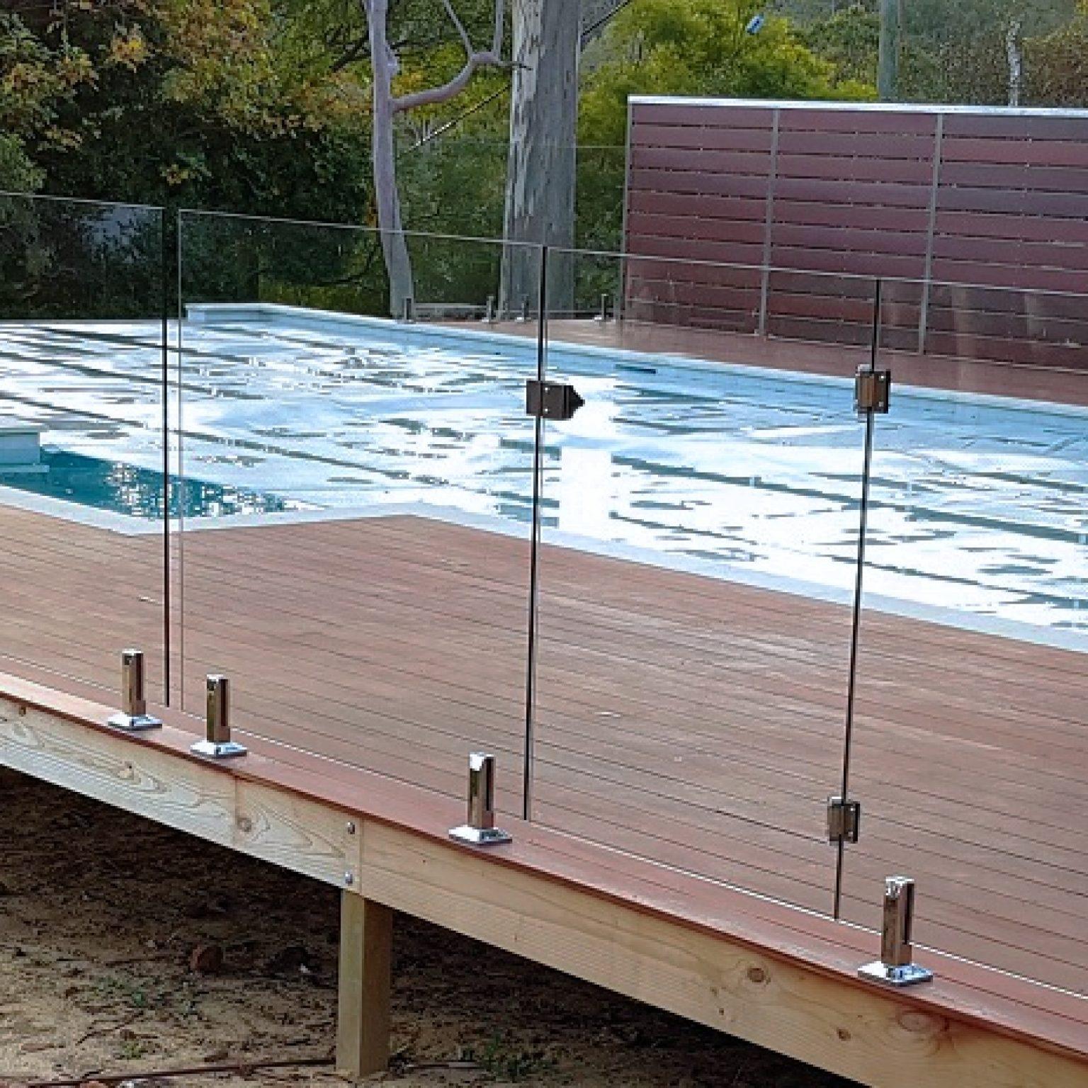 Custom built Pool Deck and Cabana House