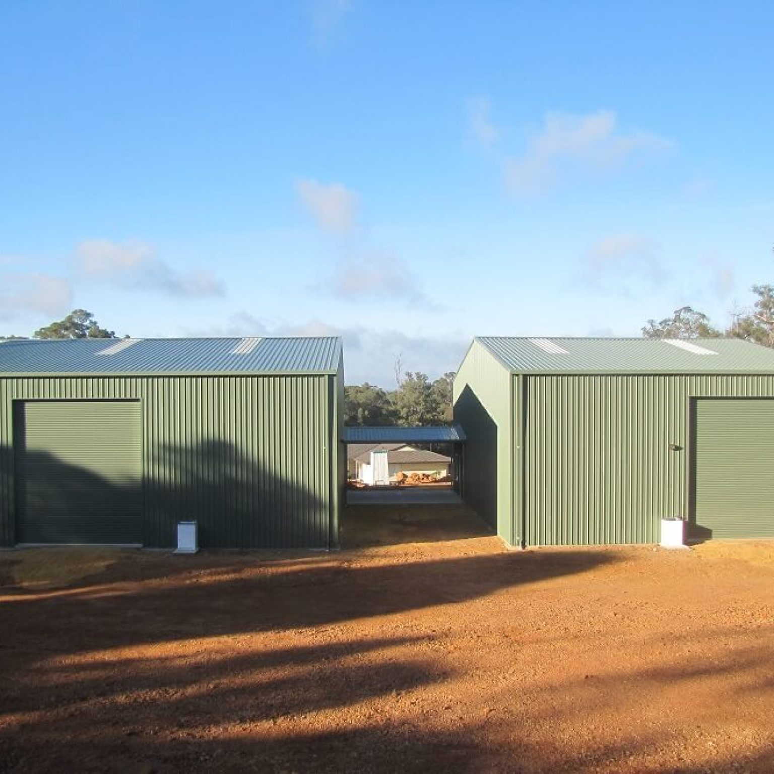 Colorbond steel Shed Workshop